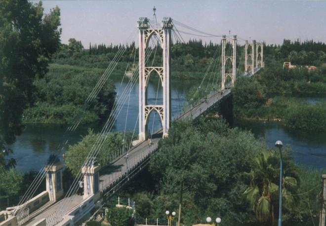 الجسر المعلق في دير الزور / أنترنت