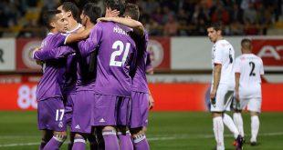 كأس إسبانيا: ريال مدريد يزعزع أركان ليونيسا بسباعية