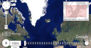 خريطة تسافر بك عبر الزمن
