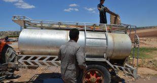 """عملية الضخ يتحكم بها وصول الوقود و""""نوعيته""""  ..  دوامة مشكلات تتسبب بانقطاع المياه عن مدينة إدلب"""