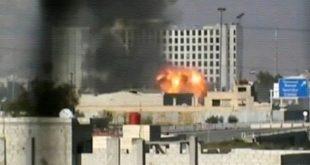 تفجير نفق في حرستا بريف دمشق.. ومقتل 9 من عناصر النظام
