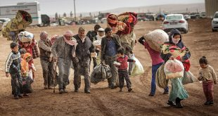 عدد اللاجئين السوريين في دول الجوار بلغ 5 مليون