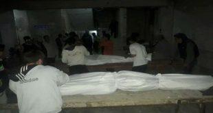 مقتل 4 أطفال في تلبيسة السورية بقنابل النظام الفراغية