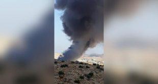 اشتباكات بإدلب تتسبّب في حرق أكبر مستودع إغاثة في الشمال السوري