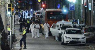 سبعة جرحى بعملية دهس في كامبريلس بجنوب برشلونة والشرطة تقتل خمسة أشخاص مشتبه بهم