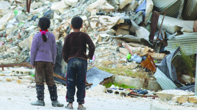الأطفال ضحية لحرب النظام على الشعب - ارشيفية