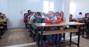 افتتاح تسعة مدارس في منطقة إعزاز