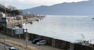 جدار إسمنتي في اليابان ضد تسونامي