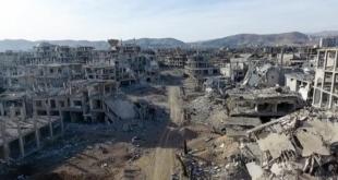 معاناة أهالي الغوطة الشرقية داخل الملاجئ
