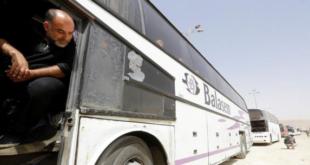 تهجير حرستا: عودة الباصات الخضر