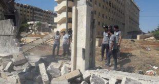 النظام يهدر الملايين من أجل سور في جامعة حلب!
