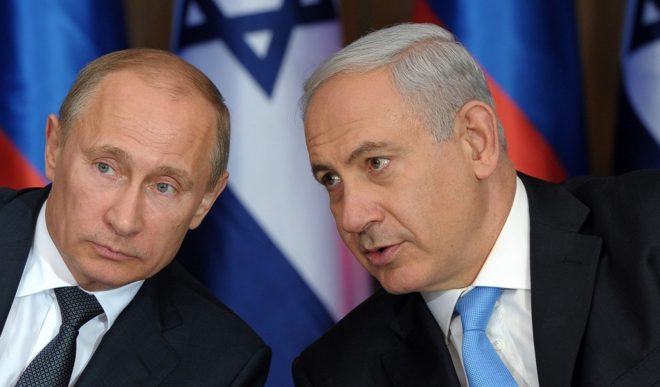 بوتين ونتنياهو - انترنت