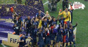 كأس العالم يبتسم للفرنسيين والأخطاء تزيح مقاتلي كرواتيا