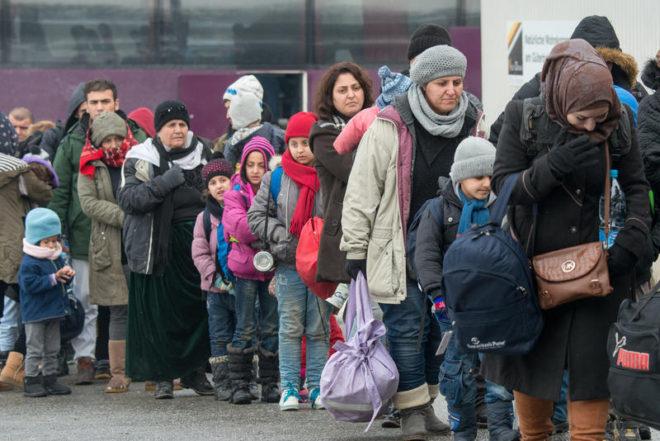 لاجئون في ألمانيا - AP