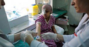 """وفاة طفل بسبب ضعف الرعاية الصحية في مخيم """"أركبان"""""""