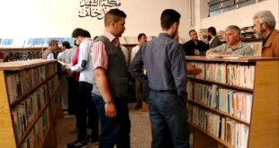 """مكتبة """"الشهيد أحمد خلف"""" ترى النور في مدينة الرستن"""