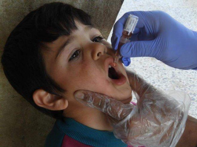 أطفال ريف حمص الشمالي يواجهون الامراض - صدى الشام
