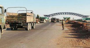 قوات النظام في معبر نصيب
