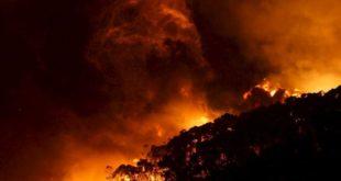 حرائق تجتاح مساحات شاسعة في أستراليا