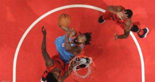 تريل بليزرز يحقق انتصارات متتالية بدوري كرة السلة الأميركي