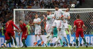 كريستيانو رونالدو ينتشل البرتغال من هزيمة محقّقة أمام إسبانيا