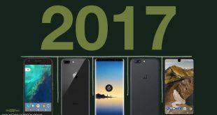أفضل 5 هواتف ذكية عام 2017