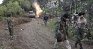 خسائر بشرية للنظام في هجوم من المعارضة بريف اللاذقية