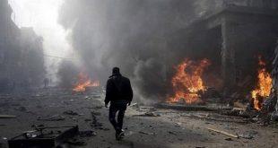جرحى مدنيون بانفجار عبوة ناسفة في إدلب