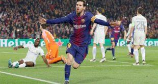 الساحر ميسي يساعد برشلونة على الإطاحة بتشلسي بهدفين رائعين