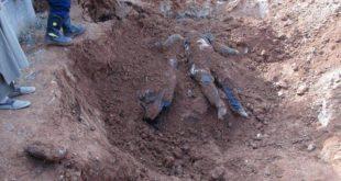انتشار ٩٠٠ جثّة من مقابر جماعية بالرقة منذ بدء ٢٠١٨
