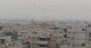 مقاتلو جيش الإسلام يغادرون الضمير باتجاه الشمال السوري