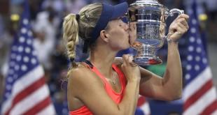 تتويج تاريخي لـ كيربر وفافرينكا في بطولة أمريكا المفتوحة