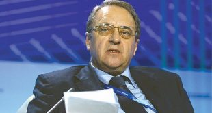 بوغدانوف: لا حل في سورية إذا تمسكت المعارضة بشرط إسقاط النظام