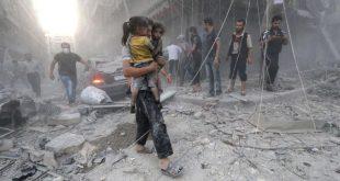 مقتل مدني وجرح آخرين بقصف للنظام على زملكا