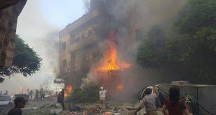 قتيلان وجرحى بانفجارين بمدينة الدانا في إدلب