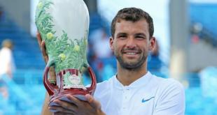 ديميتروف يفوز بأكبر لقب في مسيرته بالتنس