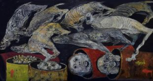 """""""موت وأكثر"""".. لوحات طليقة الحياة"""