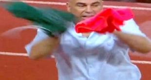 حسام حسن يثير جدلاً على مواقع التواصل بسبب قميصٍ أحمر