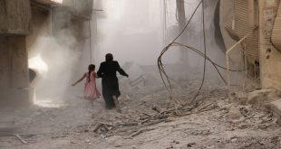مقتل عائلة بغارات روسية على دير الزور