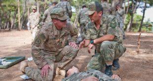 تدريبات تركية أمريكية لإجراء دوريات مشتركة في منبج