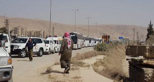 القطاع الأوسط في الغوطة بعد حرستا على درب التهجير