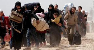 """""""جيش الإسلام"""" يُسقط طائرة مروحية في الغوطة الشرقية"""