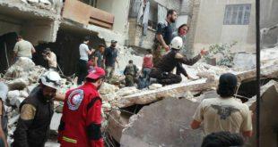 الدفاع المدني يواصل عملية الإنقاذ