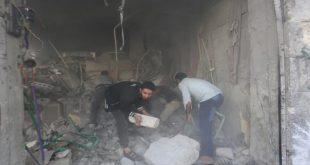 """""""داعش"""" والنظام السوري ينتقمان من أهالي مدينة القريتين"""