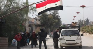 """قوات الأسد تزيل حواجز عسكرية على طريق """"حلب – سلمية"""""""