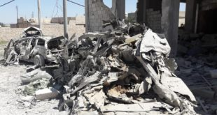 قتيل وجرحى بانفجار مفخخة في اخترين شمال حلب
