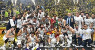 ريال مدريد يحصد لقب بطولة أوروبا لكرة السلة