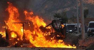 مقتل عدد من الضبّاط بانفجار لغم في درعا