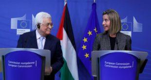 عباس سيطلب من أوروبا الاعتراف رسميا بدولة فلسطينية