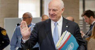 غوتيريش يطلب من دي ميستورا تنشيط العملية السياسية في سوريا